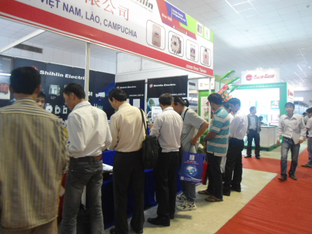 Shihlin Electric stand at The 5th Vietnam International Electrical Technology & Equipment Exhibition-Vietnam ETE 2012
