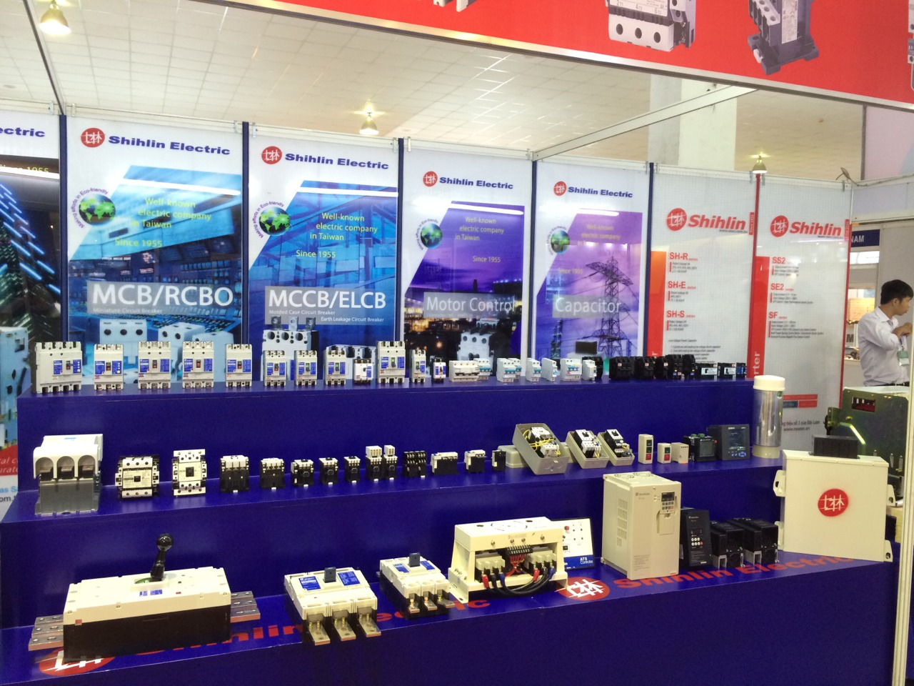 Shihlin Electric products at The 7th International Exhibition on Electrical Technology & Equipment- Vietnam ETE 2014