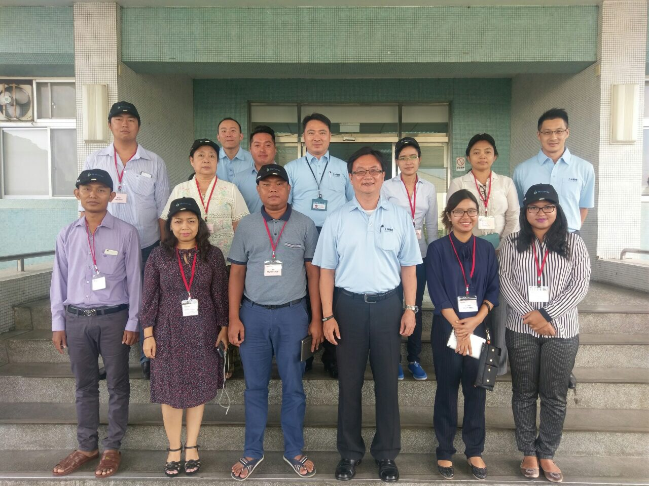 Myanmar customers visit Shihlin Electric