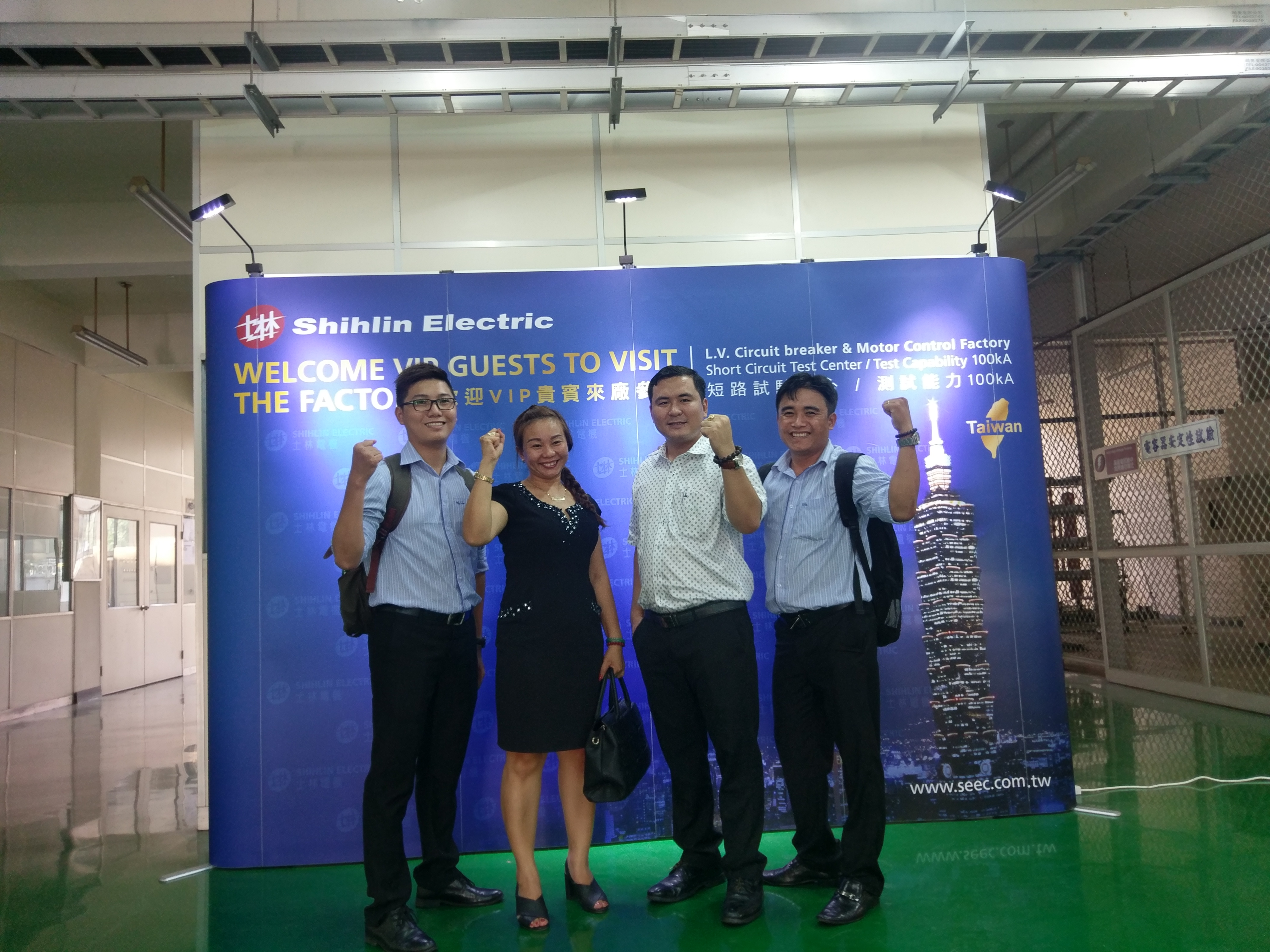 Vietnam customers visit Shihlin Electric