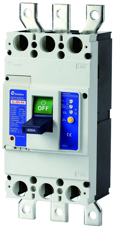 Shihlin Electric Earth Leakage Circuit Breaker BL400-RN