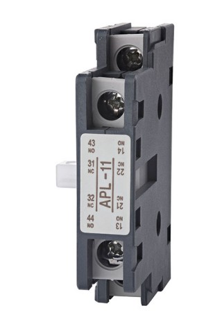 Bloco de Contato Auxiliar - Shihlin Electric Auxiliary Contact Block AP-lateral tipo