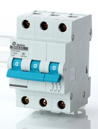 Miniature Circuit Breaker - Shihlin Electric Miniature Circuit Breaker BHA