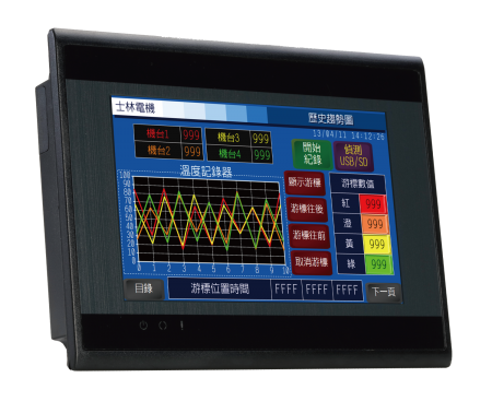 EC200H ซีรี่ส์ - Shihlin Electric HMI EC200H